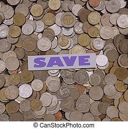 risparmi soldi