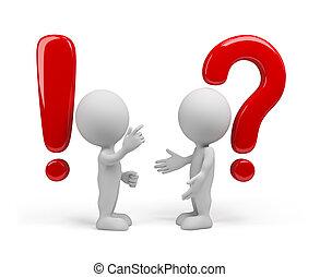 risposta, domanda, -