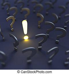risposta, domande