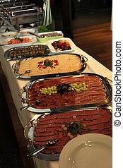 ristorante, buffet