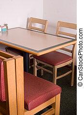 ristorante, cabina