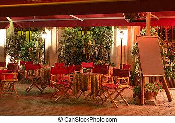 ristorante, notte