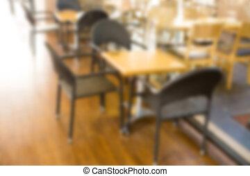ristorante, sfocato