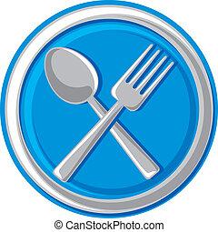 ristorante, simbolo