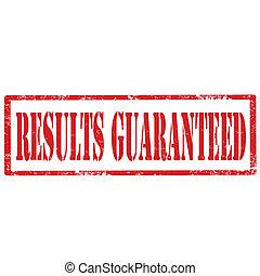 risultati, guaranteed-stamp