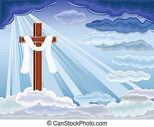 risurrezione, di, gesù