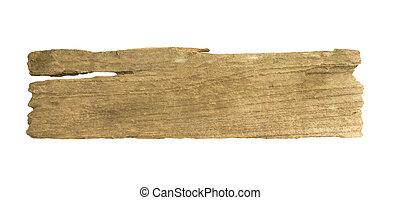 ritaglio, legno, isolato, fondo, percorso, bianco, assi
