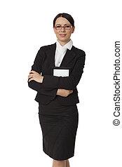 ritratto, affari donna