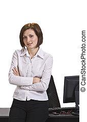 ritratto, donna d'affari