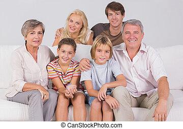 ritratto famiglia