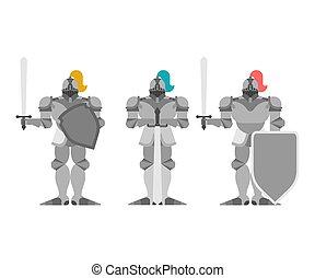 Stahl platten rüstung metall hintergrund Illustrationen und Clip-Art ...