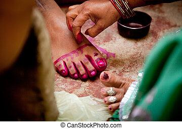 rituais, casamento, indianas, noivo