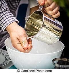 Ritual washing of hands, Passover Seder - Ritual washing of...