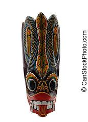 ritueel, van een stam maskeren