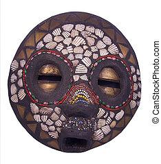 rituel, africaine, masque