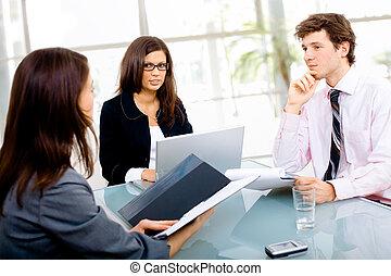 riunione affari