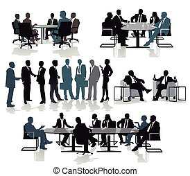 riunione, beratung.eps