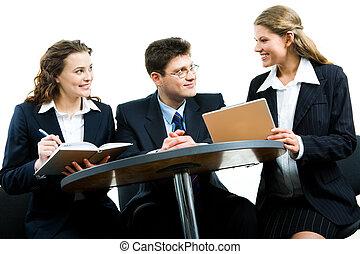 riunione, lavorativo