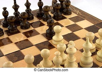 riunione, scacchi