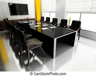 riunioni, stanza moderna