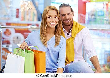 riuscito, shopping