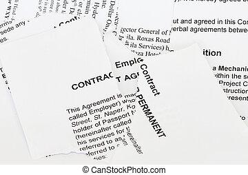 riv, kontrakt