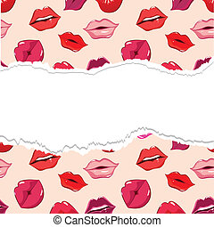 riv, seamless, mønster, lips., tryk