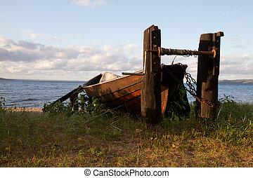 riva, barca