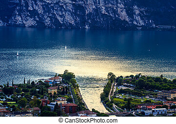 Riva del Garda panorama - Italy