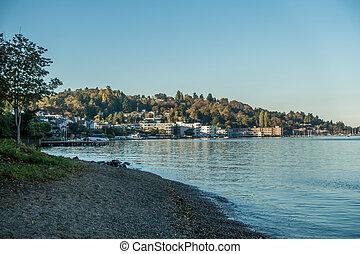rivage, 3, -, lac washington