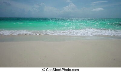 rivage baie, tranquillité