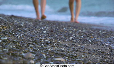 rivage, marche long