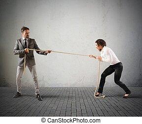 rivalidade, negócio