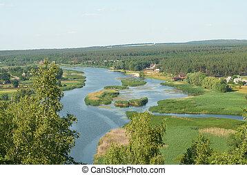 River aber landscape