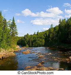 River Above Falls