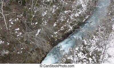 River and snowfall