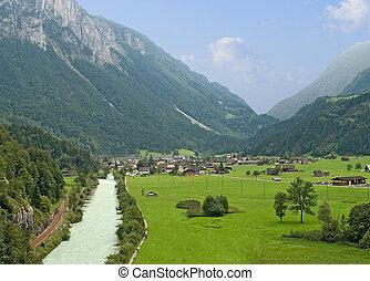 River at Alps