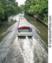 River boat transportation