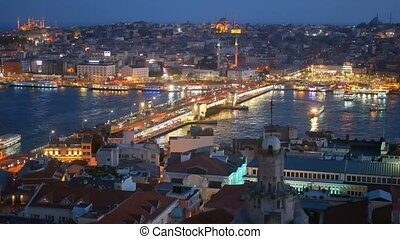River city skyline ship