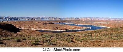 River Colorado at the desert