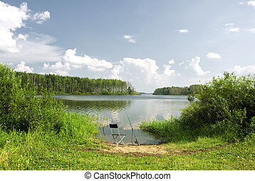 River Fishing place