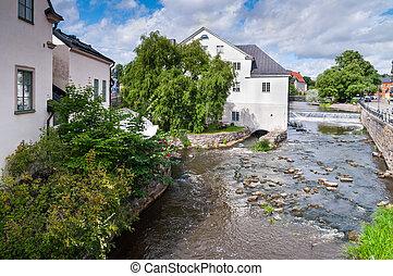 River Fyris in Uppsala