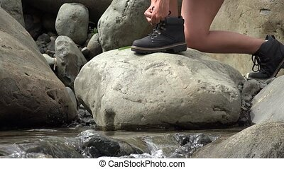 River Hiking, Hikers