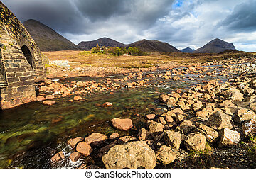 River in a mountain landscape