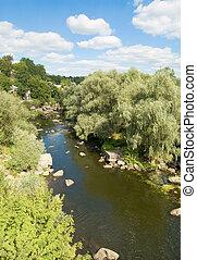 river in Boguslav