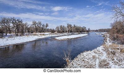 river in Colorado plains