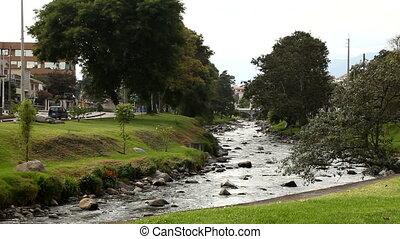 River in Cuenca