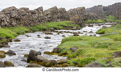 River in Iceland