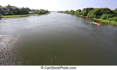 River in Kanchanaburi