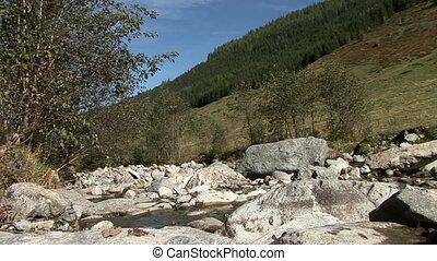 River in Mountains, Alps, Austria